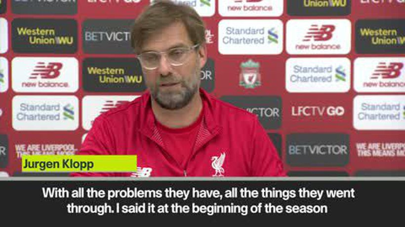 Klopp - No idea if CL defeat will affect City in title race