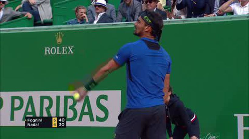 Shock wins for Fognini and Lajovic in Monte Carlo Masters semis