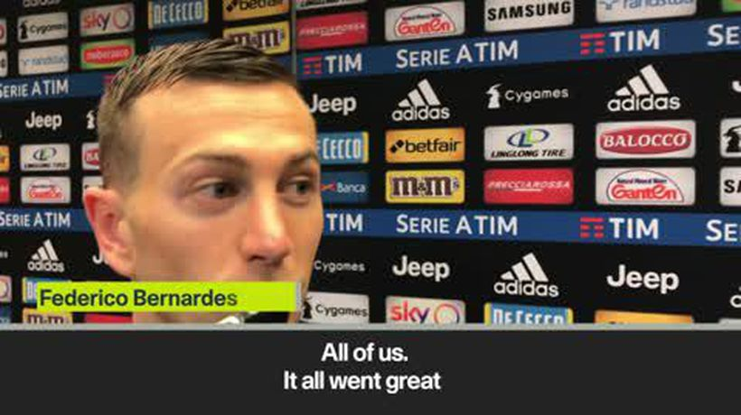 'Juve don't want to stop here' Bernardeschi