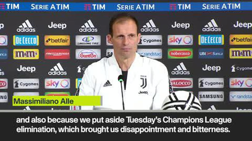 'Scudetto helped Juve forget Champions League exit' Allegri