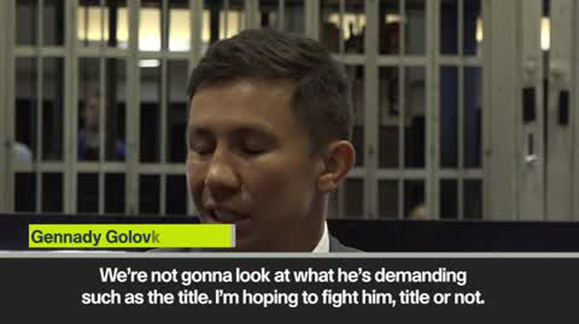 Golovkin wants third Canelo fight