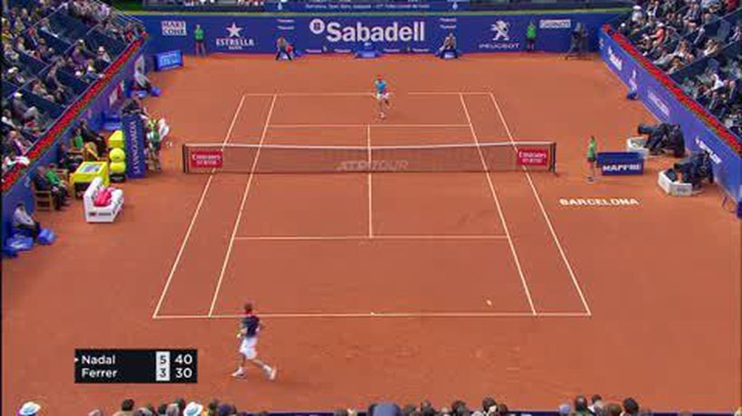 Nadal clay dominance continues with Ferrer win