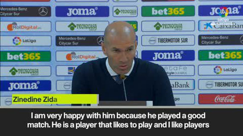 Zidane praises Brahim Diaz performance for Real Madrid