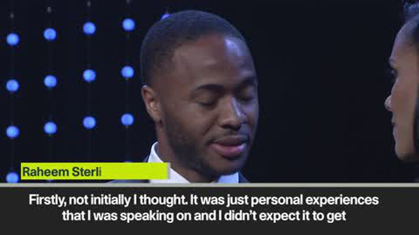 Sterling on Instagram post making impact on racism in football