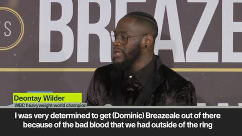 'My right hand is Hammer of Thor' Wilder after Breazele KO
