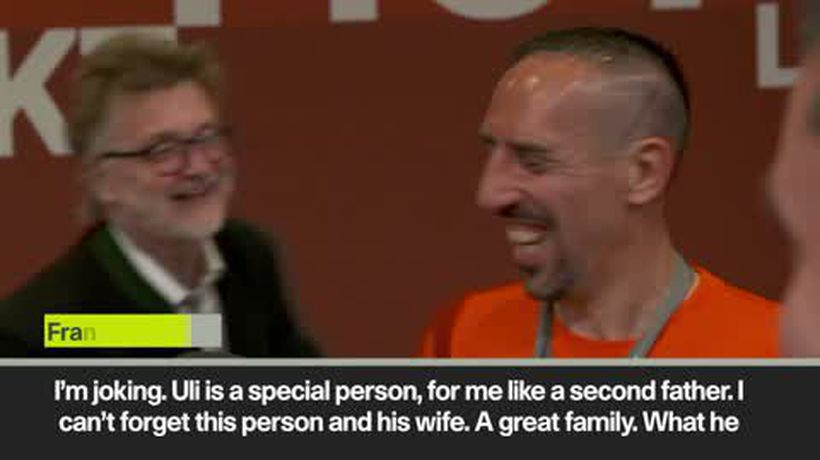 """'He should have given me 1 more year!"""" Ribery leaves Bayern"""