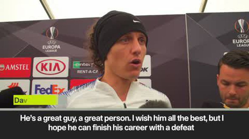 'I hope he finishes with a defeat' Luiz on Cech, former tam-mate