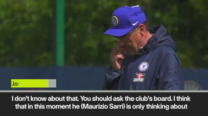 'He is focused only on the trophy' Jorginho on Sarri's future