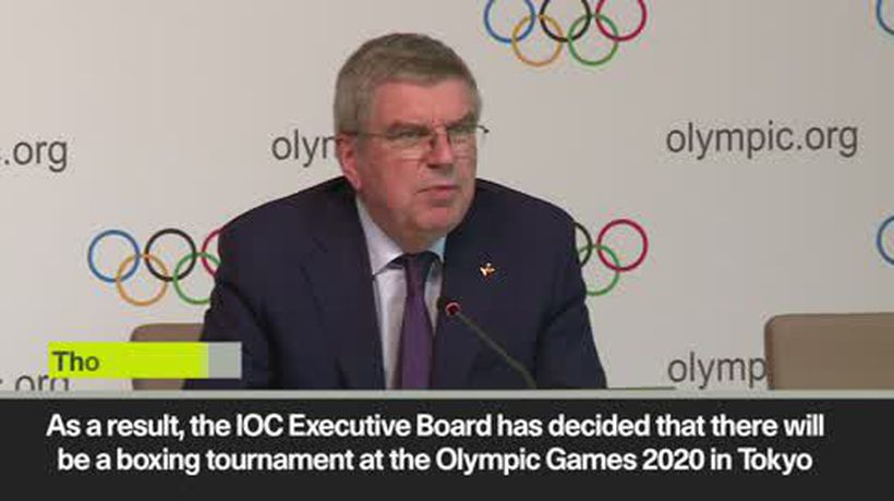 IOC recommends suspending AIBA from organising Tokyo 2020 boxing tournaments