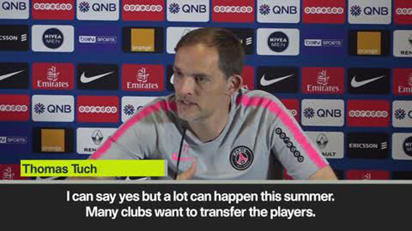 'I want Neymar and Mbappe to stay' - Tuchel