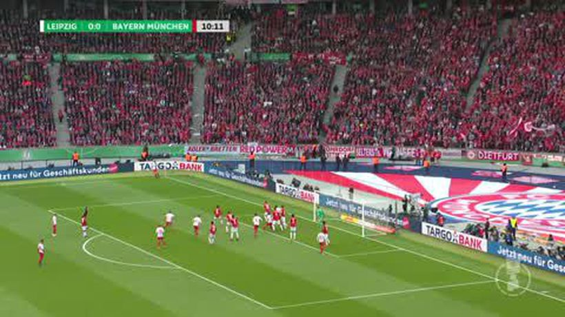 Bayern Munich win the DFB Pokal after comprehensive 3-0 win over RB Leipzig
