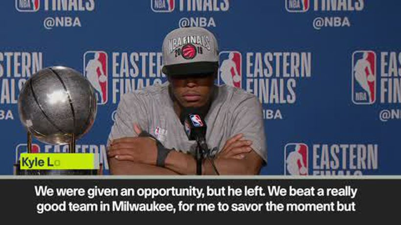 'I am not satisfied. Our goal is to win the Championship' – Lowry on NBA Finals