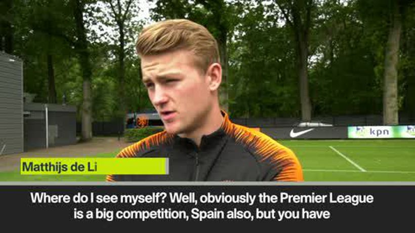 Matthijs de Ligt says he's made no decision about club future