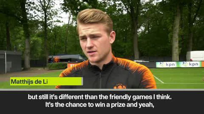 'England are really dangerous' - De Ligt