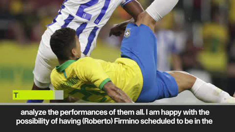 Firmino vs Jesus. Tite weighs up Brazil strikers' talents ahead of Copa America