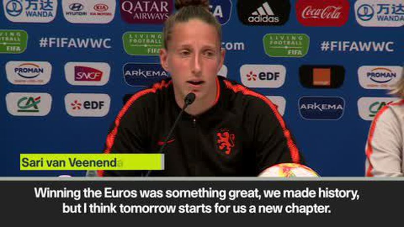 'Tomorrow is a new chapter' – Euro winners Netherlands prepare to face NZ in 2019 Women's World C...