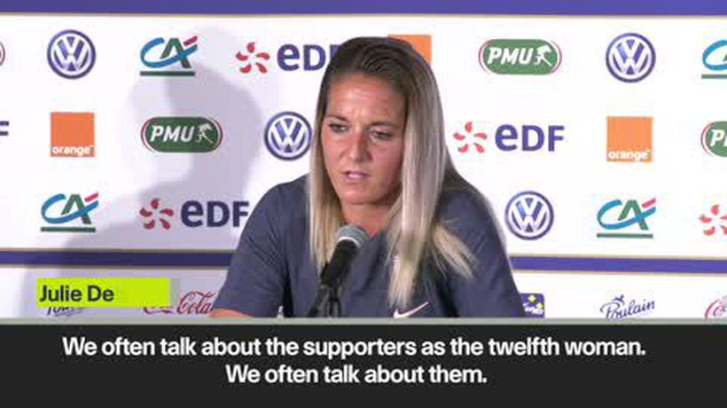 'France not feeling the pressure of home Women's World Cup' as they prepare to face Norway