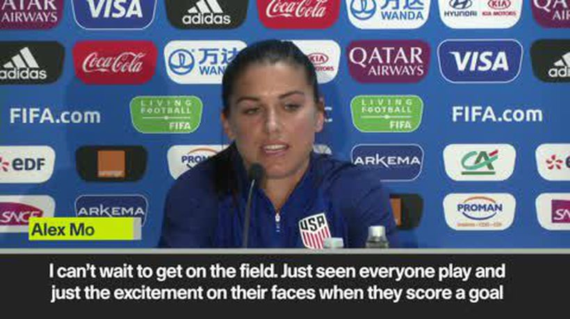 'France game inspired US' Morgan anticipates Women's World Cup match against Thailand