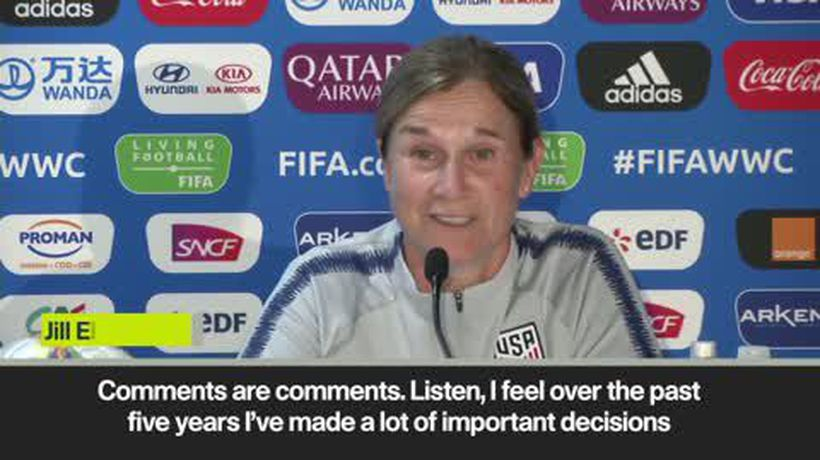 USA coach Jill Ellis responds to Hope Solo criticism on eve of World Cup opener