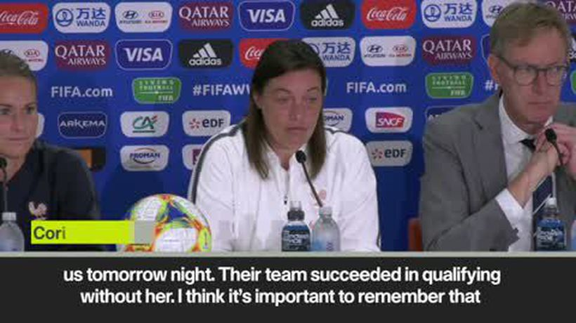 'We never laugh' France serious about Women's World Cup