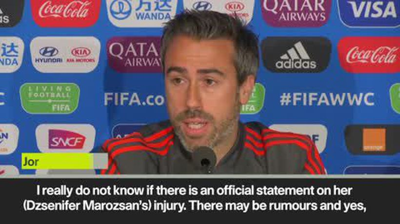 'I can play with a broken toe' Spain coach on Morozsan injury