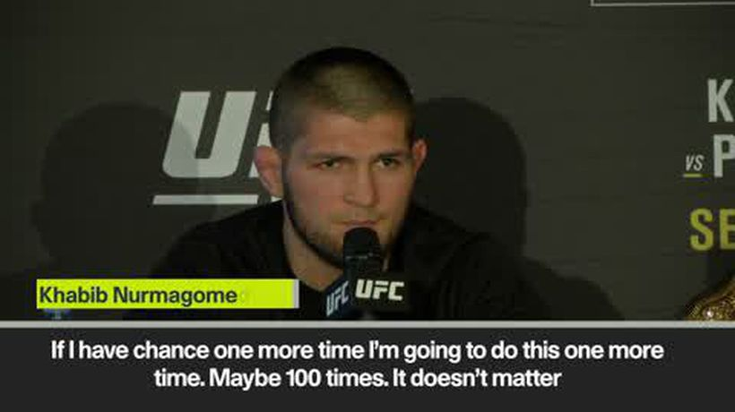 'He begged me, please don't kill me' Khabib says no rematch with McGregor