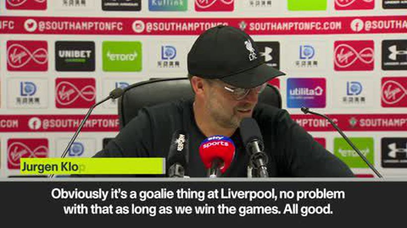 Klopp accepts Adrian mistake is a 'Liverpool goalkeeper thing'