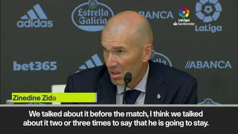 'Bale is staying at Real Madrid' - Zidane