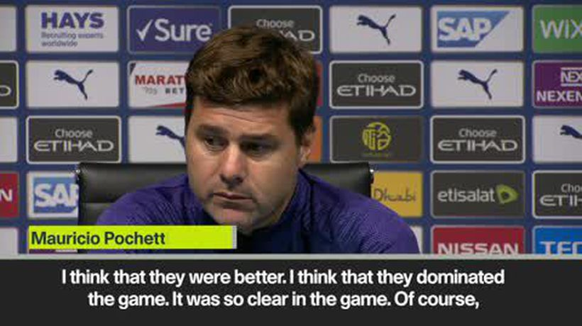 'You can't compare Man City with Spurs' - Pochettino