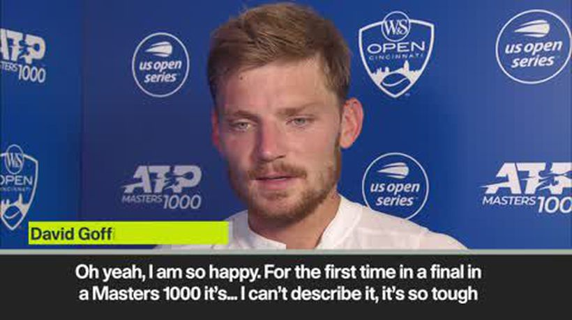 Goffin on overcoming emotions to reach the Cincinnati semi-final
