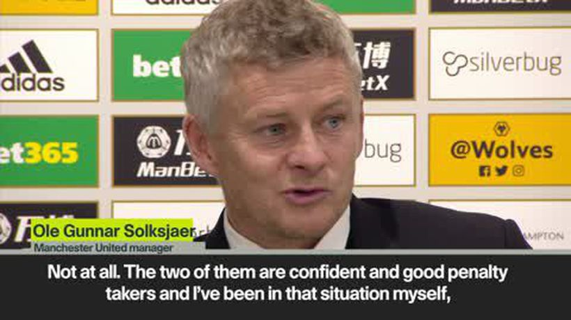 Solksjaer - I've no problem with two penalty takers