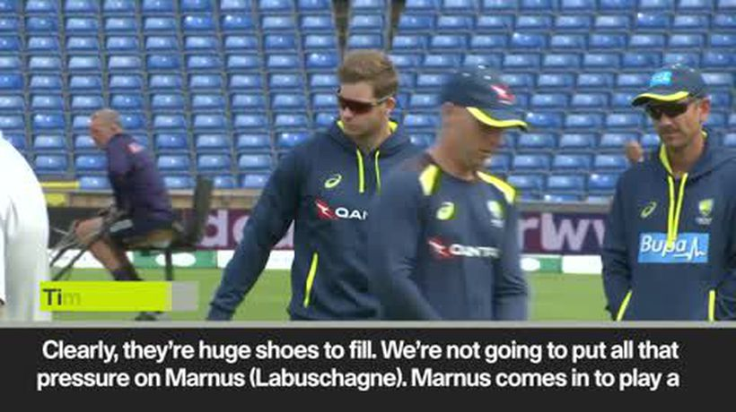 'Huge shoes to fill' says Paine about Smith absence in third Ashes Test