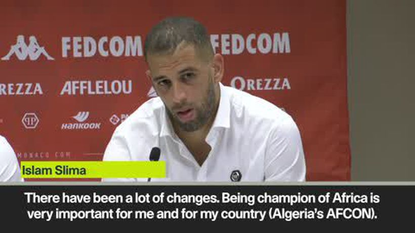 Slimani galvanised by Algeria AFCON win as he looks to impress at Monaco