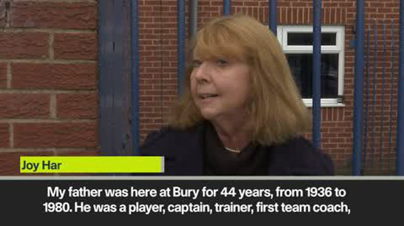 'If Bury died the whole town would feel it' - Joy Hart