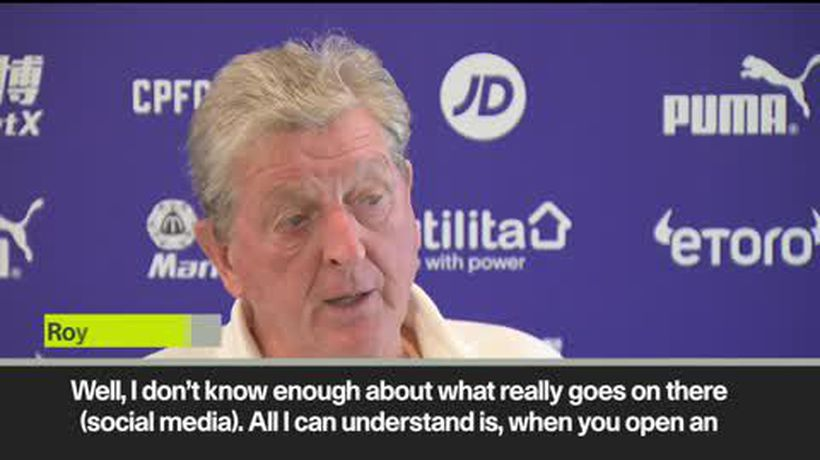 'I don't need that in my life' Roy Hodgson holds forth on social media