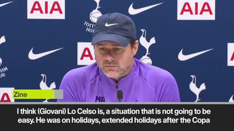 'He is still so far away from what we expect from him' Pochettino on Giovani Lo Celso