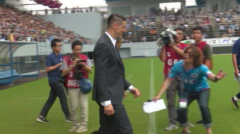 Fernando Torres is named honorary president of his final club, Sagan Tosu