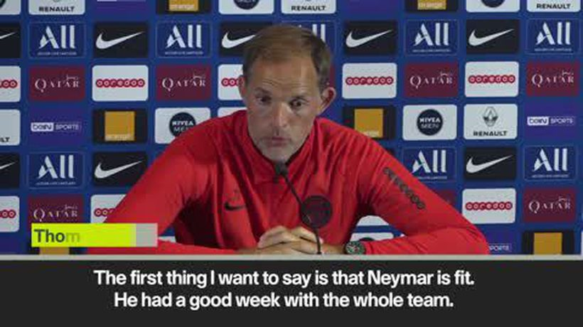 'Neymar fit but can't play until future sorted' Tuchel