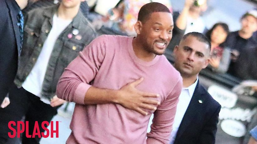 Will Smith Surprised Aladdin Cast With Mac And Cheese Feast!