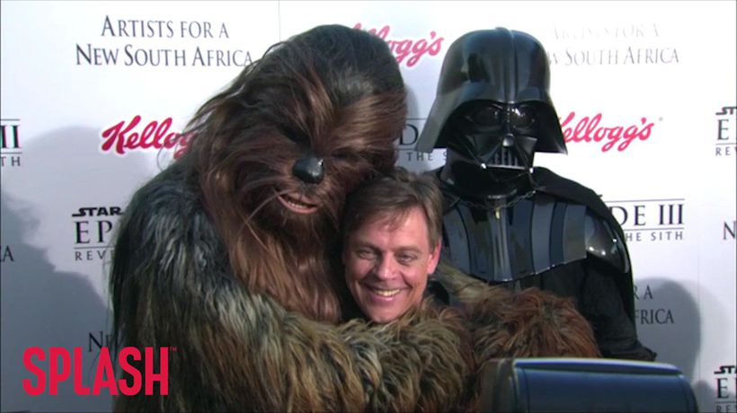 Mark Hamill 'Treated Like Family' By Star Wars Fans