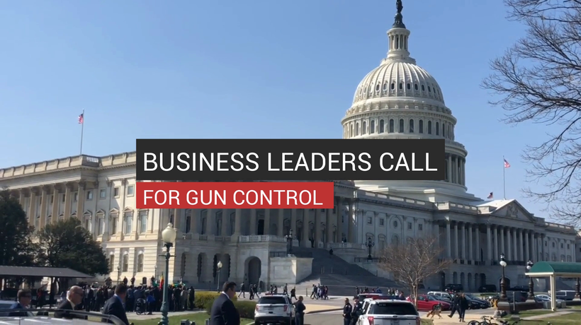 Business Leaders Call For Gun Control