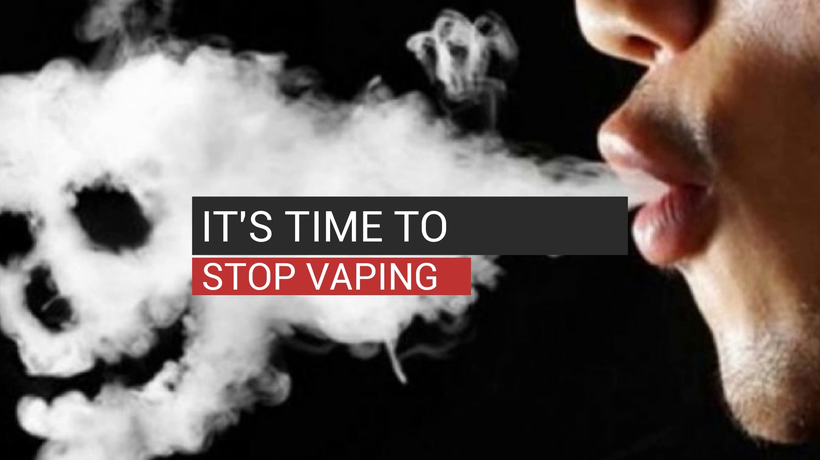 It's Time To Stop Vaping