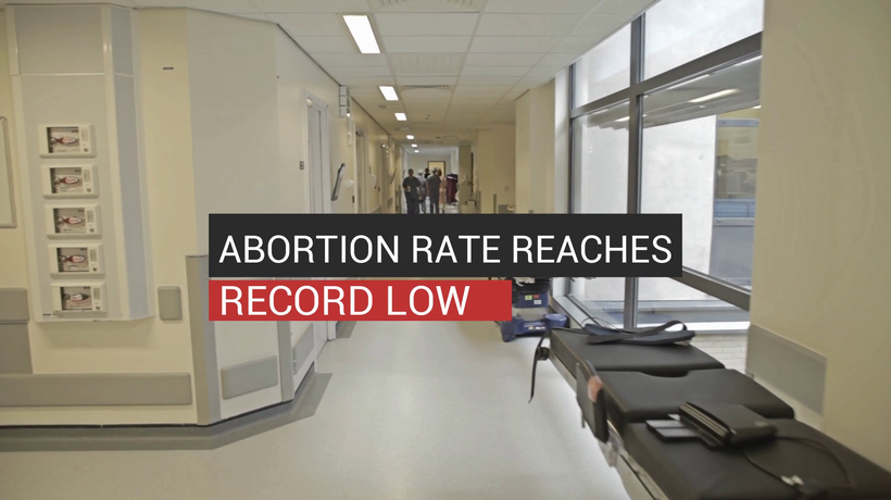 Abortion Rate Hits Record Low
