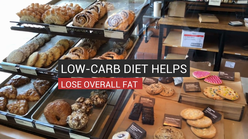 Low-Carb Diet Helps Lose Overall Fat