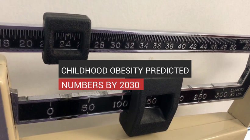 Childhood Obesity Alarming Rates by 2030