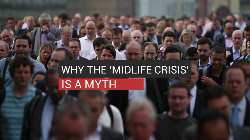 Why The 'Midlife Crisis' Is A Myth