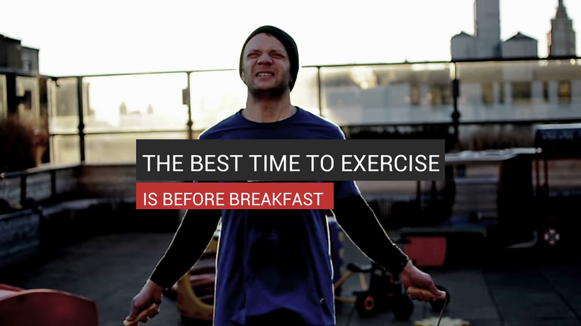 The Best Time To Exercise Is Before Breakfast