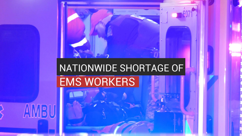 Nationwide Shortage Of EMS Workers