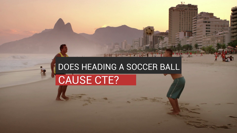 Does Heading A Soccer Ball Cause CTE?