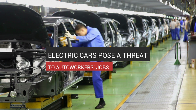 Electric Cars Pose A Threat To Autoworkers' Jobs